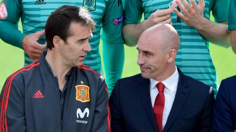 إقالة مدرب إسبانيا