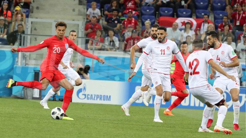 مباراة تونس أمام انقلترا تحقق أكبر نسبة مشاهدة في بريطانيا