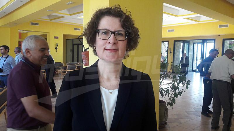 سفيرة سويسرا بتونس ريتا آدام