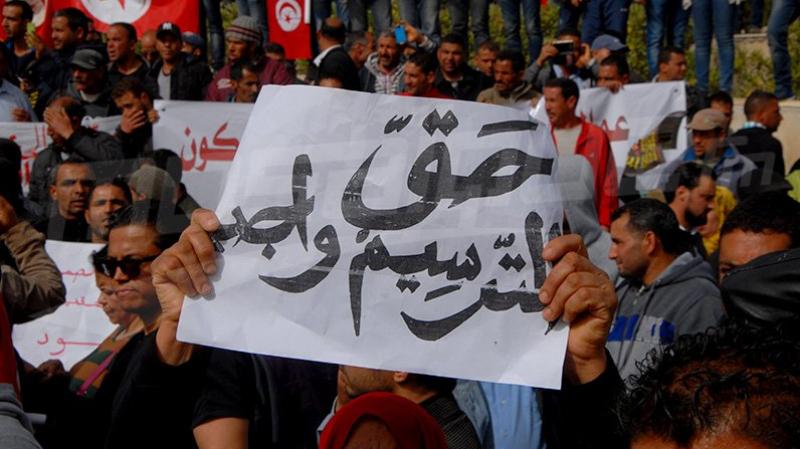 مجمع تنسيقيات عمال الحضائر يدعو إلى إضراب وطني