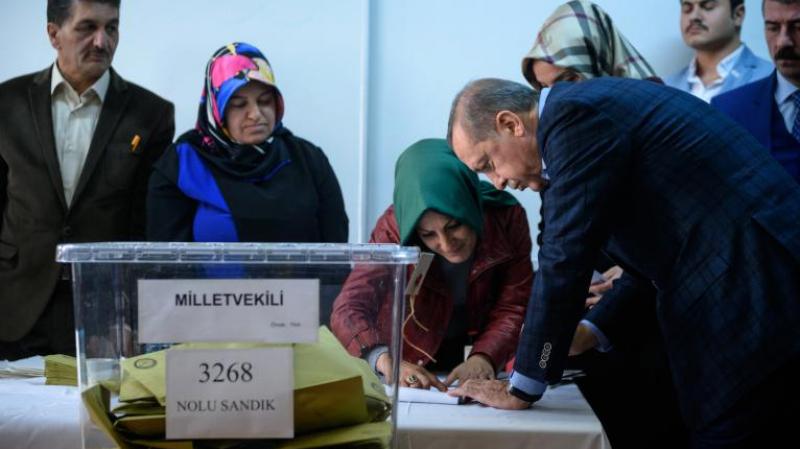 اردوغان يتصدّرنتائج الانتخابات الرئاسية التركية
