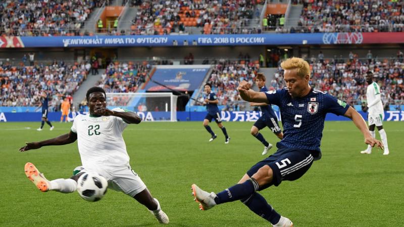 السنغال تتعادل مع اليابان 2 - 2