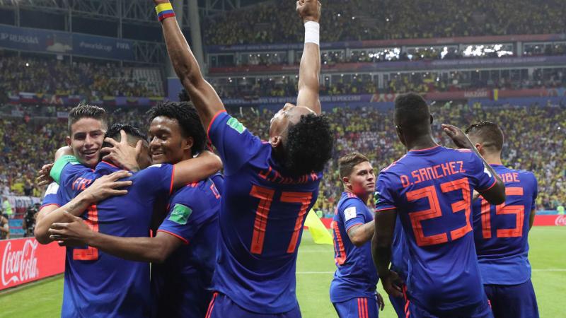 ثلاثية كولومبيا تطيح ببولونيا من كأس العالم