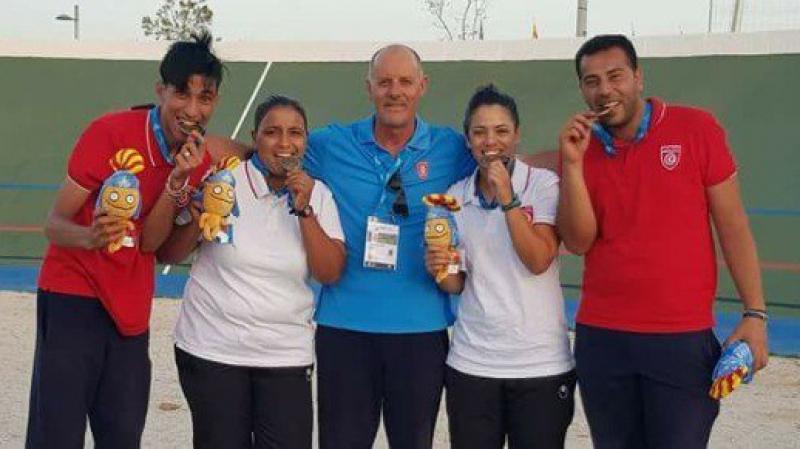ذهبية سادسة لتونس في الألعاب المتوسطية تاراغونا 2018