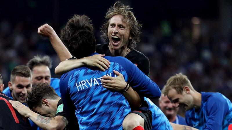 كرواتيا تتغلب على الدنمارك بركلات الترجيح وتتأهّل إلى ربع النهائي