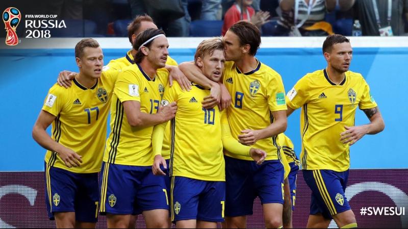 مونديال 2018 : السويد تطيح بسويسرا وتمر إلى ربع النهائي