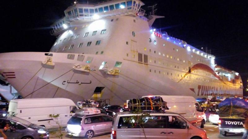 زيارة تفقد ومتابعة لوصول الرحلة البحريّة 'قرطاج' إلى ميناء جرجيس