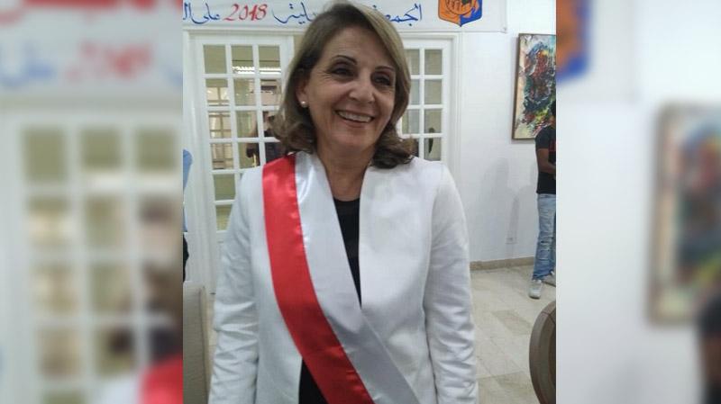 مرشّحة النداء على رأس بلدية قرطاج