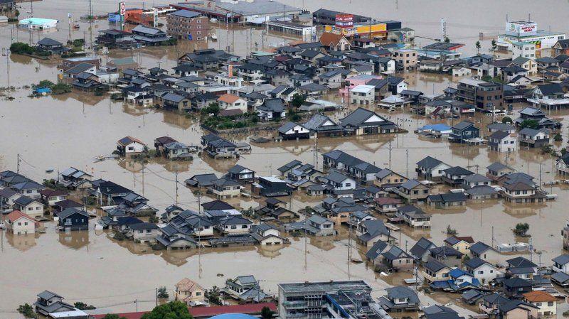 اليابان : ارتفاع عدد ضحايا الأمطار الطوفانية