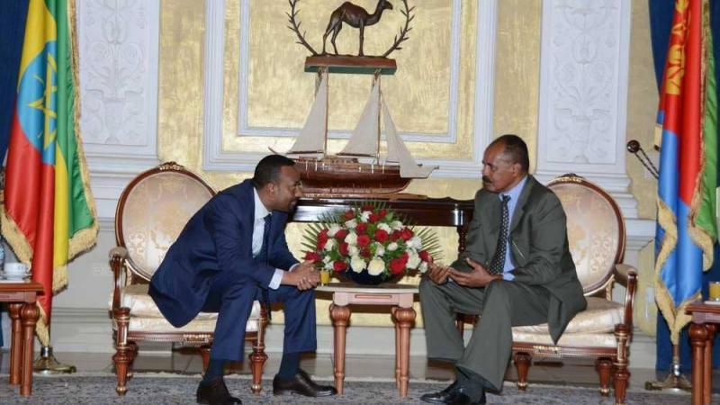 إثيوبيا وإريتريا ينهيان عداء 20 عاما