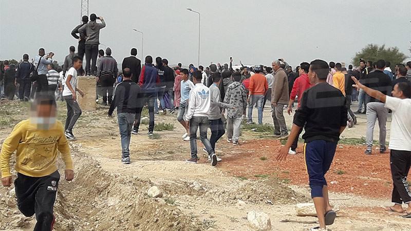 سيدي بوزيد: احتجاجات الأهالي تؤجل تنصيب المجلس البلدي بجلمة
