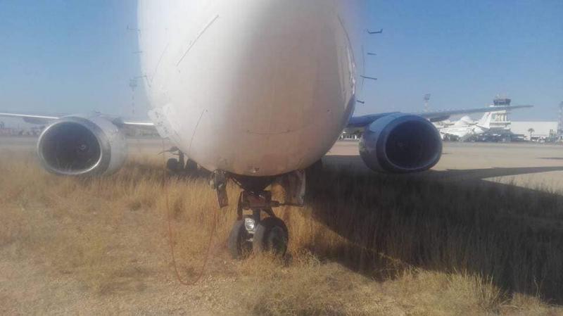 مطار جربة: خروج طائرة عن المدرج عند الإقلاع