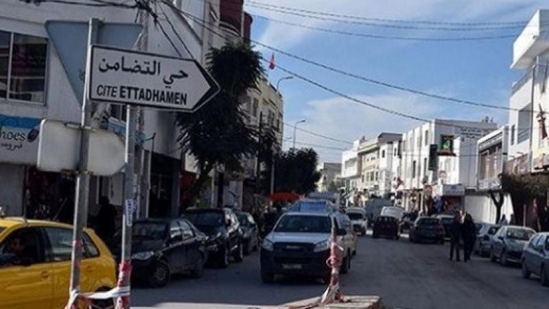تحويل جزئي لحركة المرور بشارع الإستقلال في حي التضامن