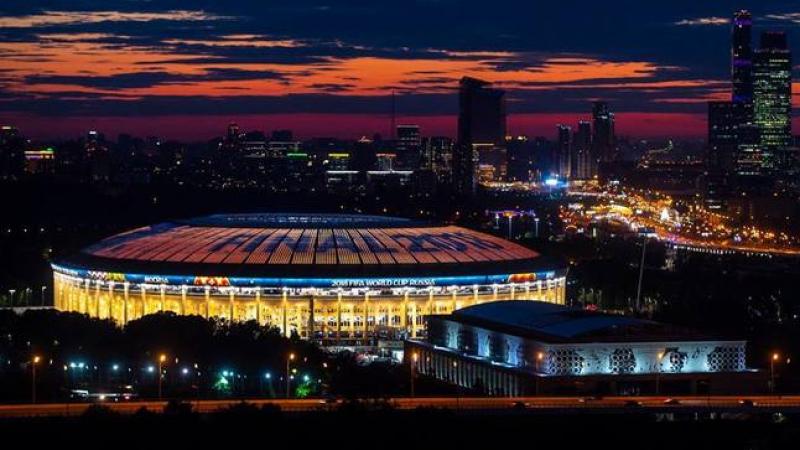 روسيا 2018: ملعب لوجنيكي يتزيّن للعرس الكروي