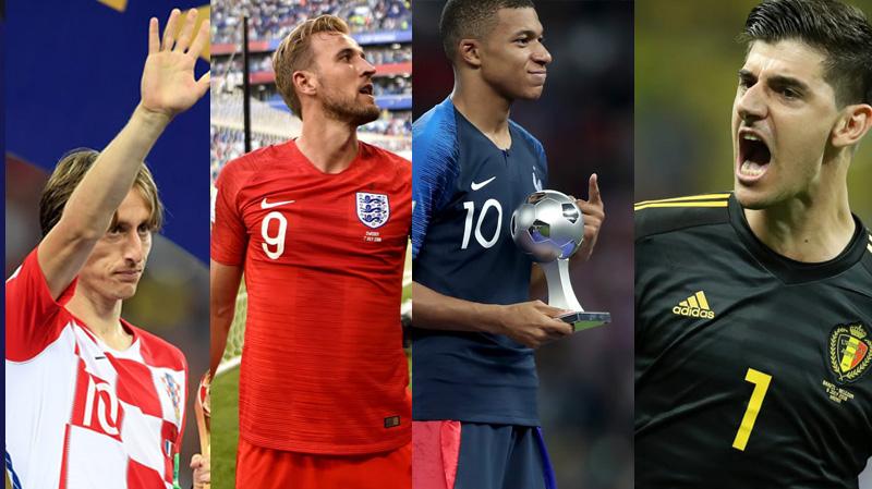 مونديال روسيا 2018: قائمة اللاعبين المتوّجين