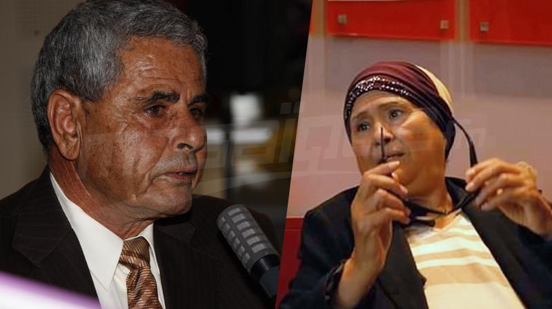 محمد القمودي وزهيرة سالم في العناية المركزة