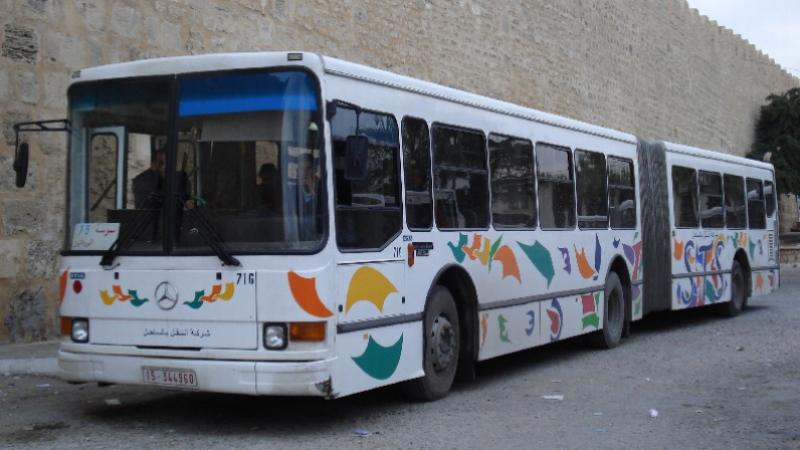 إضراب بكافة مصالح شركة النقل بالساحل الخميس