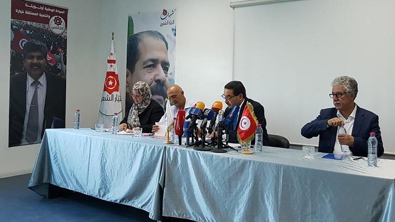 حمدي: طالما تحالف النهضة والنداء متواصل لن تظهر حقيقة اغتيال الشهيدين