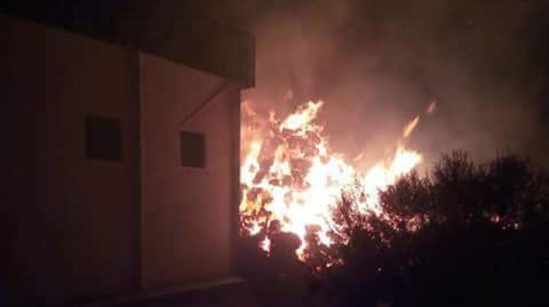تطاوين: حريق بتعاونية فلاحية يخلف خسائر جسيمة