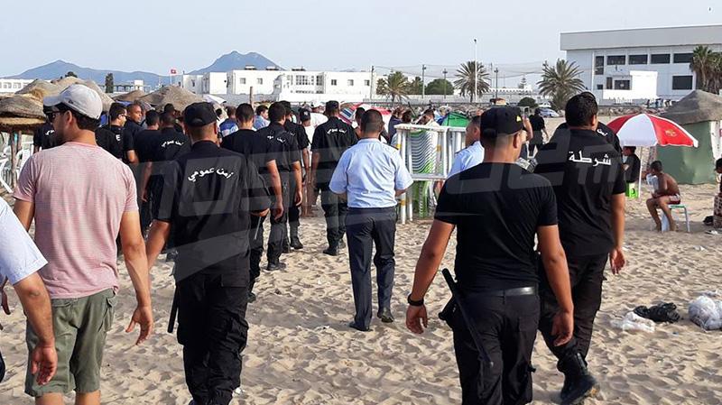 وزير الداخلية يتحول إلى حلق الوادي اثر مواجهات بين الأمن ومسوغي المظل