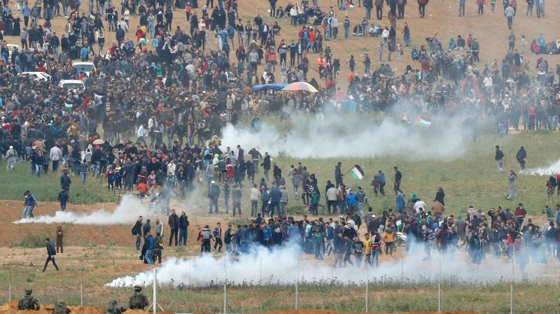 مقتل أحد جنود الإحتلال الإسرائيلي في مواجهات غزة
