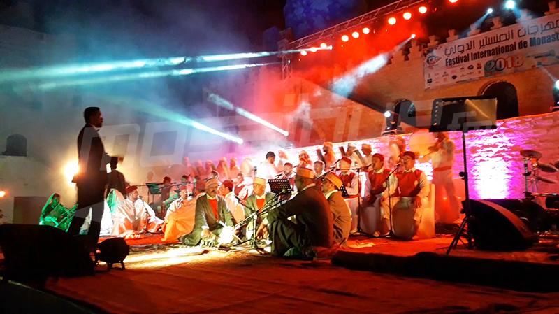 عرض ننده الاسياد في افتتاح الدورة 47 لمهرجان المنستير الدولي