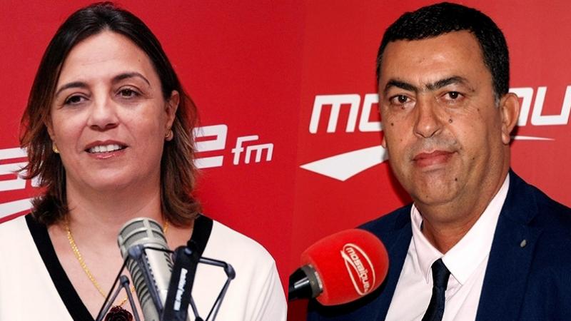 شاكر العيادي وريم محجوب في برنامج ميدي شو