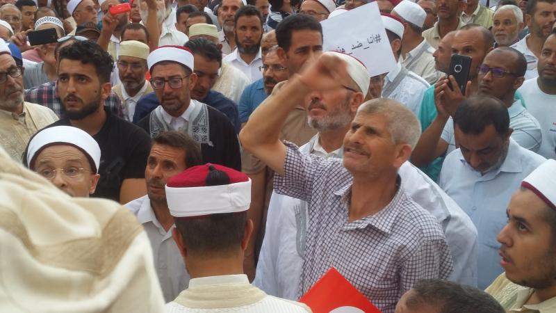 تونس:أئمة يخرجون في مسيرات منددة بتقرير لجنة الحريات الفردية والمساواة