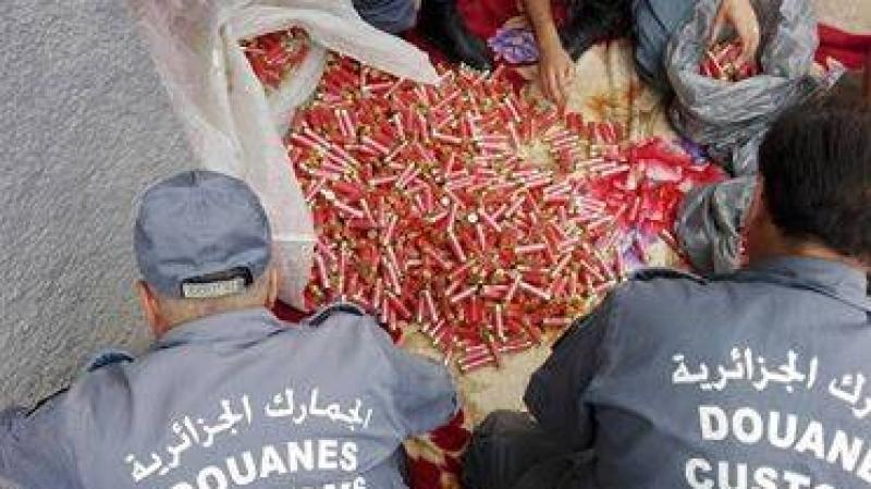 الديوانة الجزائرية تحجز 149 ألف خرطوشة