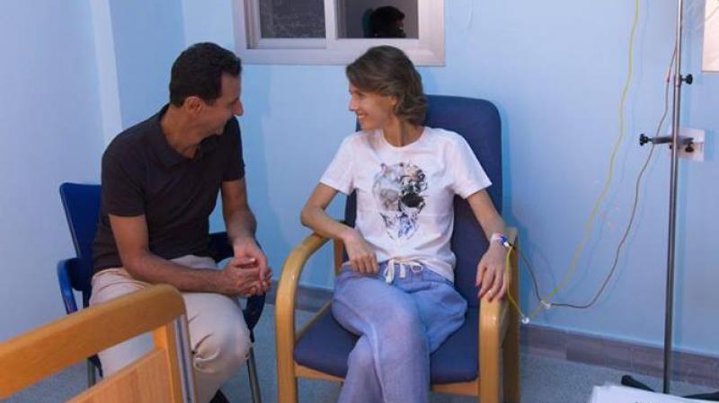 زوجة بشار الأسد تواجه سرطان الثدي