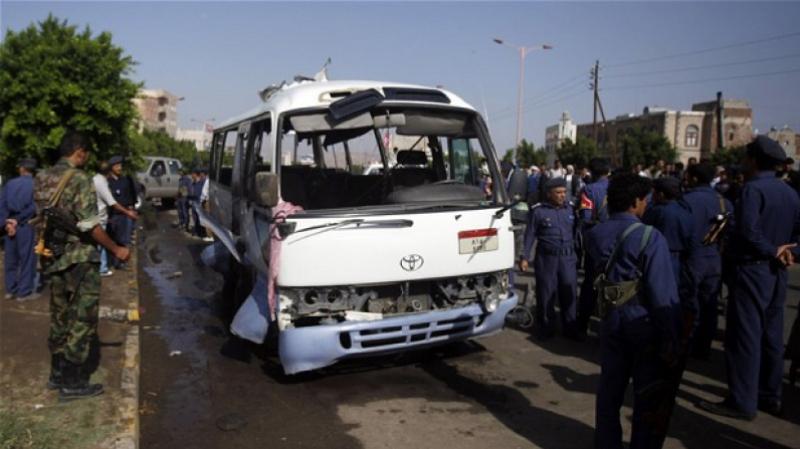 اليمن : مقتل 29 طفلا في غارة استهدفت حافلة