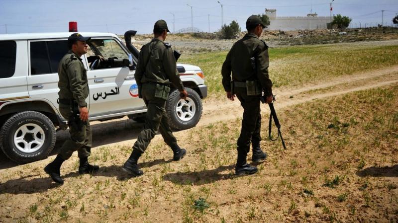 الحرس يضبط 7 شاحنات تهريب