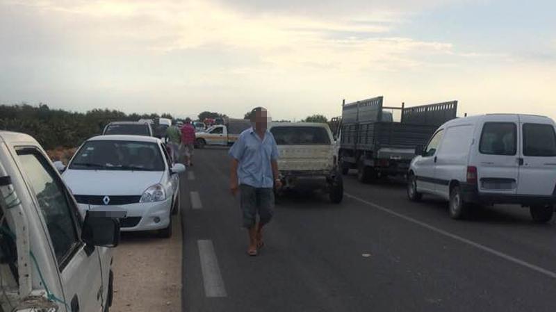 سيدي بوزيد :وفاة امرأة و اصابة 8 اخرين في اصطدام سيارتين