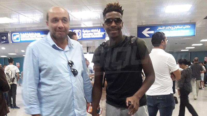 مهاجم كونغولي يصل للاختبار مع النادي الافريقي