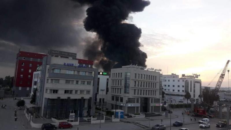 حي الحضراء: حريق على مساحة هكتار من الأعشاب والفواضل