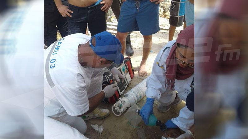 سوسة: إنقاذ طفل وإنعاشه بعد غرقه في شط مريم