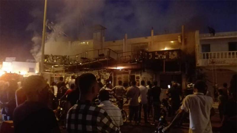 جربة: اندلاع حريق في مطعم ومقهى بميدون