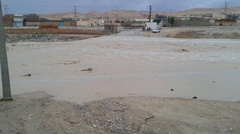 فيضان أحد الأودية بمعتمدية فريانة من ولاية القصرين: بلاغ مروري