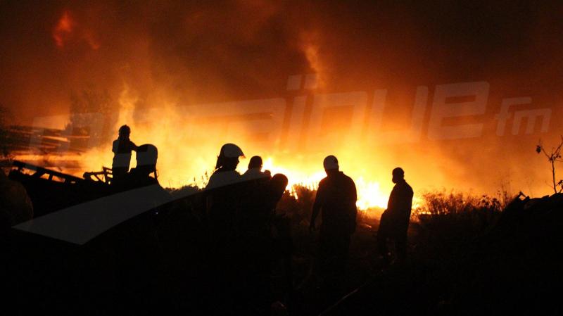 رئيسة بلدية تونس: الجهود متواصلة لإخماد حريق حي الخضراء بالعاصمة