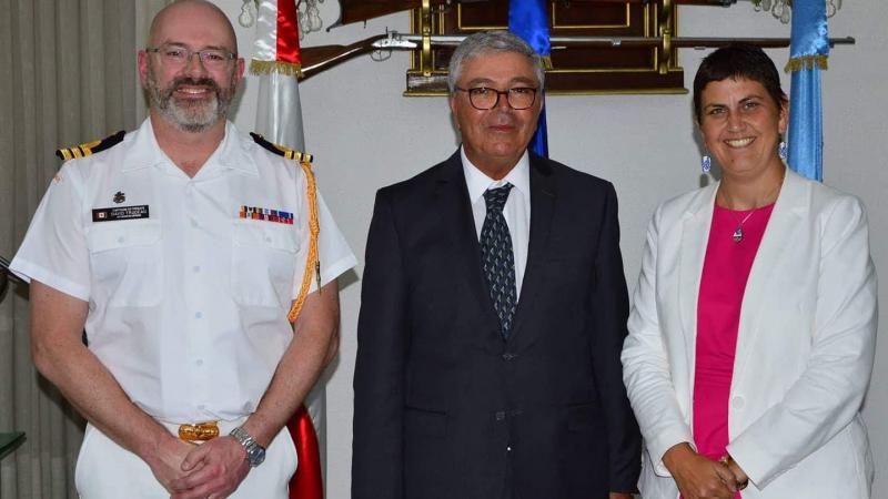 وزير الدفاع وسفيرة كندا يتباحثان دعم التعاون العسكري بين البلدين