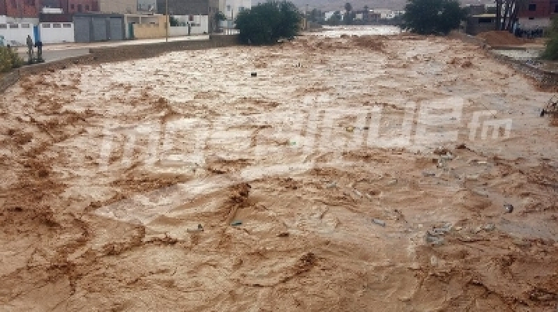 إجلاء 7 عائلات نتيجة فيضان وادي سليانة