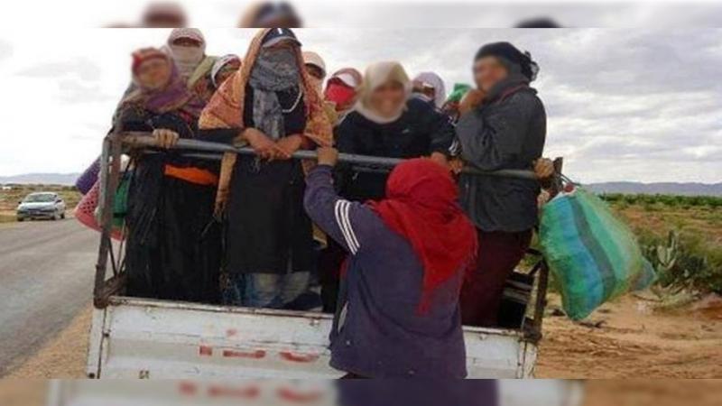 سبيطلة:اصابة أكثر من 20 شخصا في حادث اصطدام شاحنة تقل عاملات فلاحيات