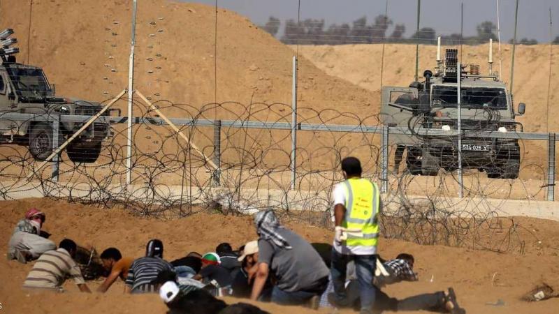 استشهاد فلسطينيين وإصابة حوالي 241 آخرين برصاص جيش الاحتلال