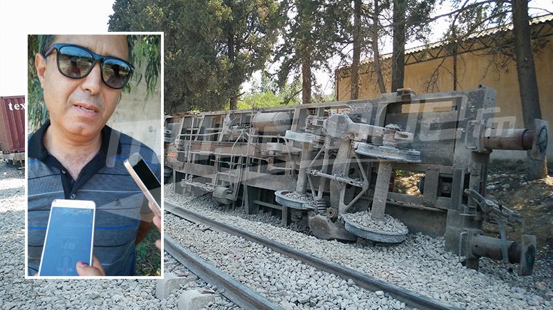 الوسلاتي: ننتظر فحص محتوى آلة التسجيل لكشف أسباب حادث القطار بقرمبالية