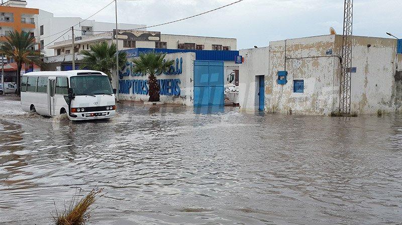 نشرة جوية خاصة: أمطار رعدية غزيرة بعدد من الولايات