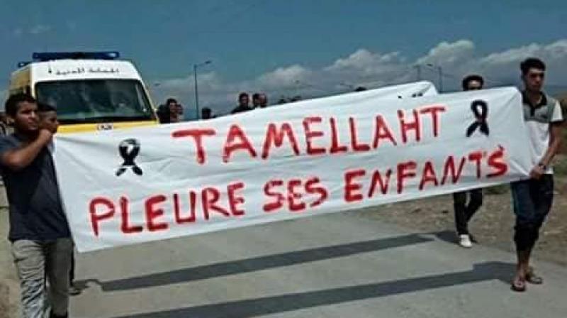 بعد مقتل طفلين في انفجار قنبلة:جزائريون في مسيرة ضد الإرهاب