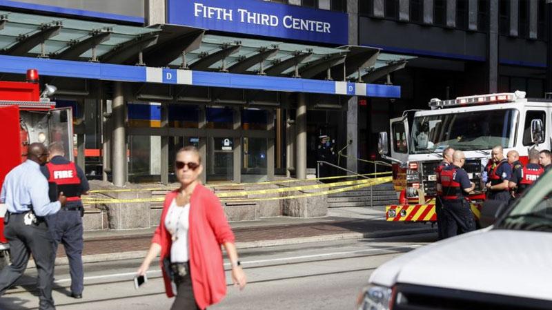 أمريكا : قتلى وجرحى في هجوم مسلّح على مصرف بسينسيناتي
