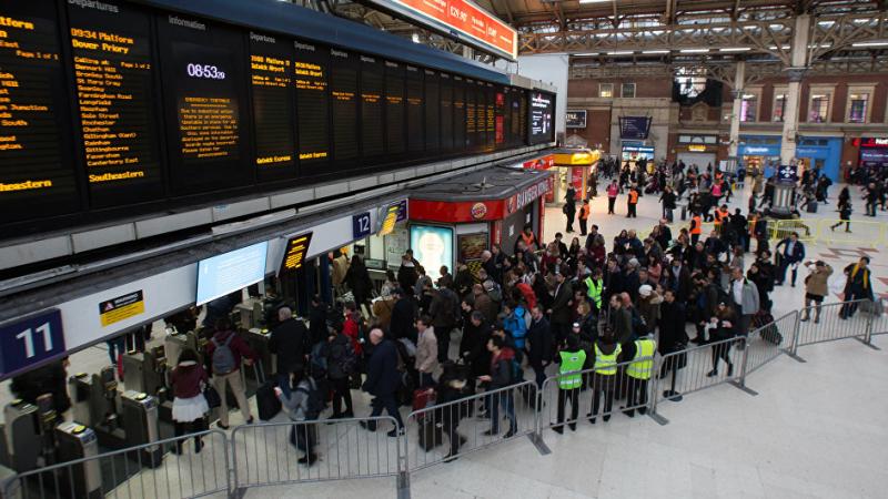 إعادة فتح محطة قطارات في لندن بعد تحذير أمني