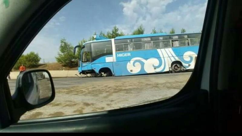 5 قتلى في انقلاب حافلة بالجزائر