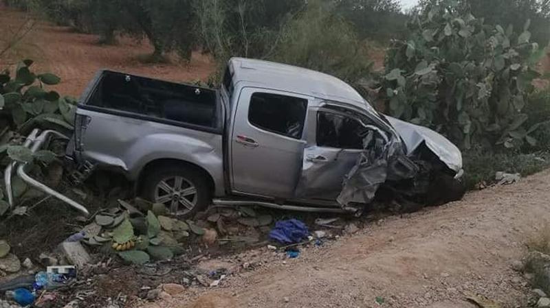 سيدي بوزيد: 10 جرحى في حادث مرور